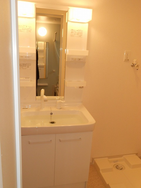ポラリス 02020号室の洗面所
