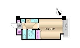 ビイルーム新宿・314号室の間取り