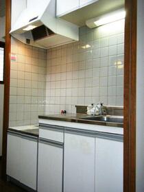 Belle Ville 下落合 102号室のキッチン