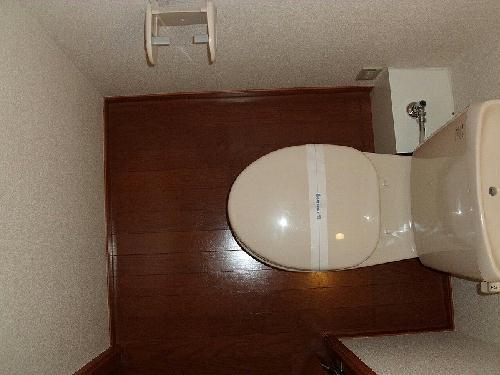 レオパレスラポール 203号室のトイレ