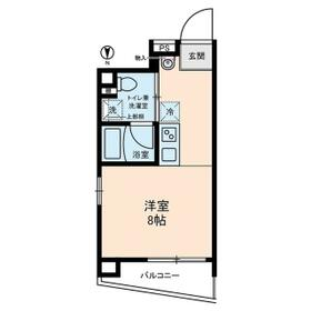 BASE東上野・0501号室の間取り