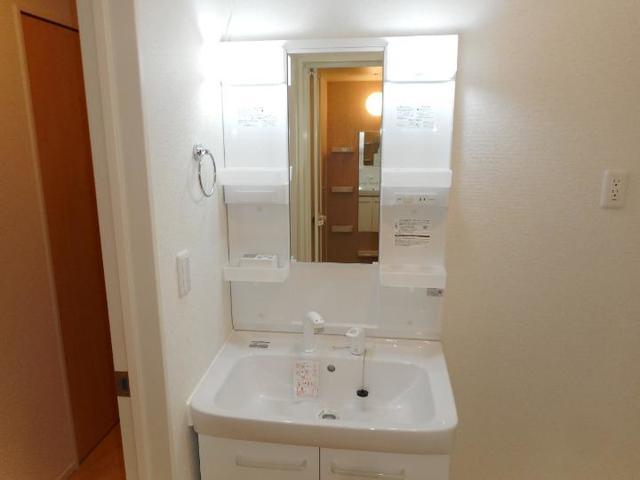 アルモニー印西Ⅱ 02070号室の洗面所