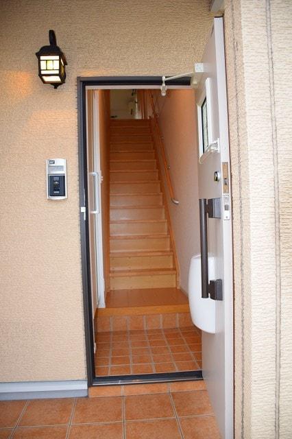 ラフィナート D 02060号室の玄関