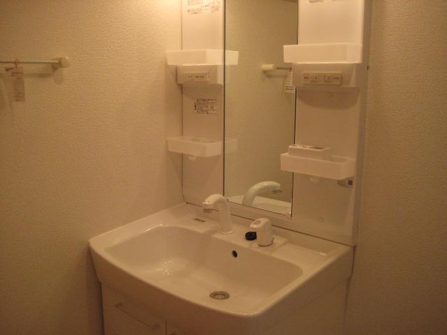 シャン・ド・フルール A 01040号室の洗面所
