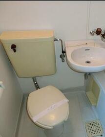 ラ・ベルティ成増パートⅠ 303号室のトイレ
