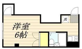 上田ハウス・0204号室の間取り