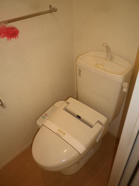 サンモール北入曽A 00203号室のトイレ