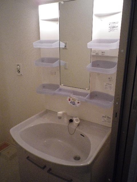 サンモール北入曽A 00203号室の洗面所