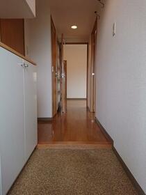 パークヒル参番館 207号室の玄関