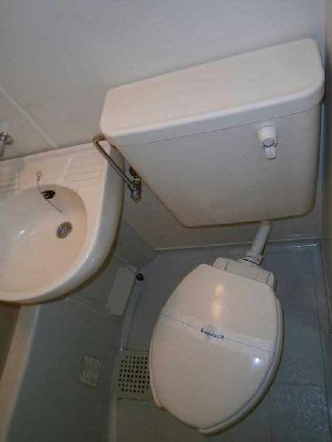 レオパレス洗足池第3 203号室のトイレ