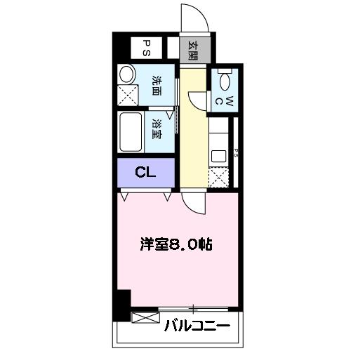 リファースSUMIDA・02020号室の間取り