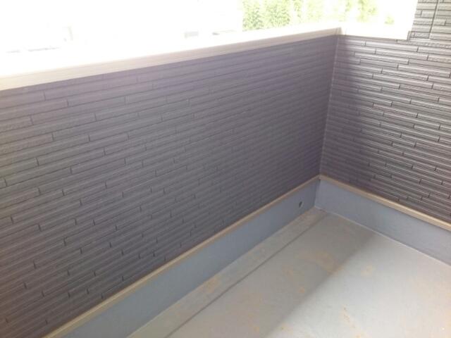 テール シエルⅠ 02040号室のバルコニー