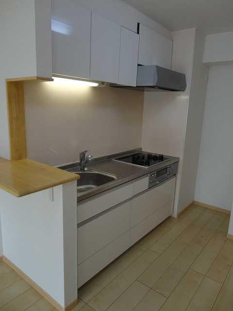 横網 リバーイースト 04020号室のキッチン