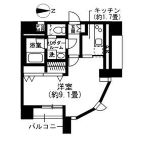 SOCIETY EBARA-NAKANOBU・202号室の間取り
