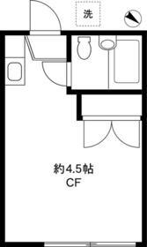 フルーレ桜台・202号室の間取り