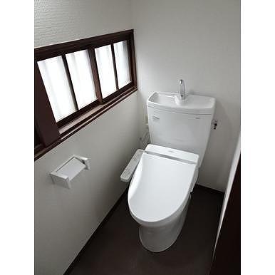 鈴木幸子方のトイレ