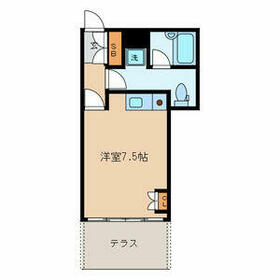 KM Square・S01号室の間取り