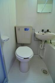 サンライフ志村 0101号室のトイレ