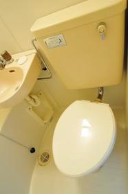 サンライフ志村 0103号室のトイレ