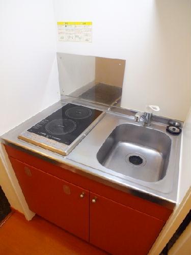 レオパレスコンファーレ神栖Ⅰ 106号室のキッチン