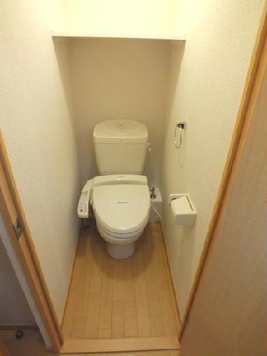 レオパレスコンファーレ神栖Ⅰ 106号室のトイレ