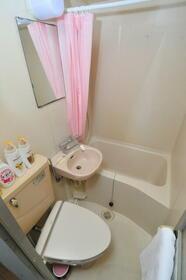 サンライフ志村 0102号室のトイレ