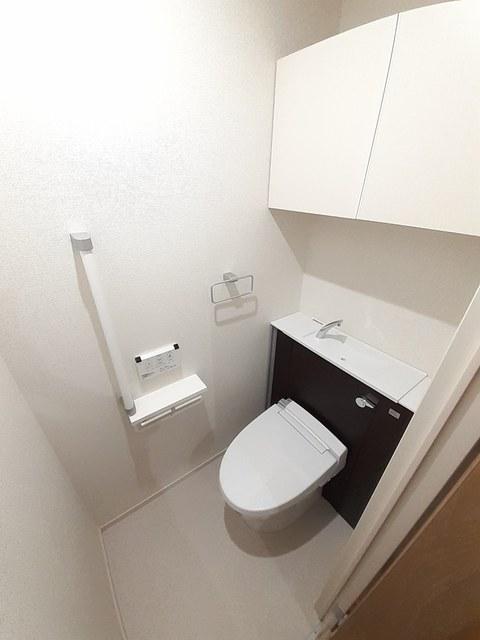 シュバリエ 01020号室のトイレ