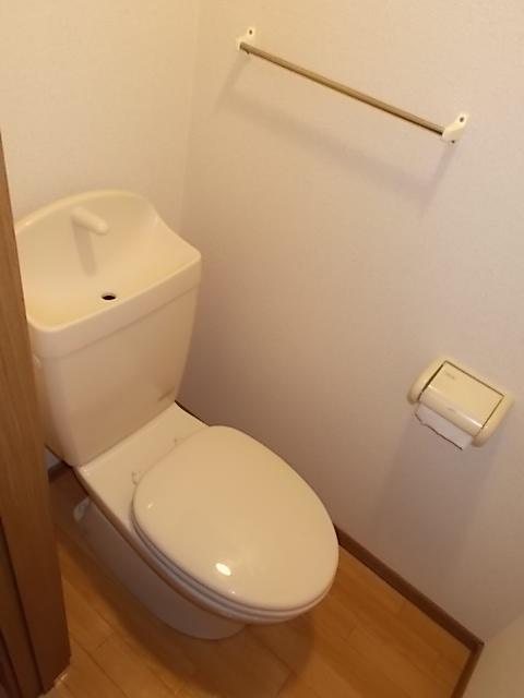 グロワールA 01050号室のトイレ
