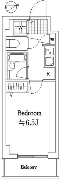 スカイコート板橋第5・503号室の間取り