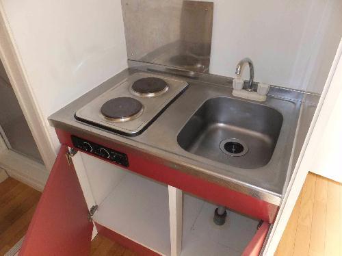 レオパレスHARU 204号室のキッチン