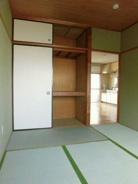 柱アパート 02010号室の収納