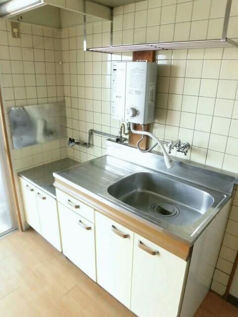 柱アパート 02010号室のキッチン