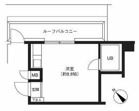 三敬中洲マンション・505号室の間取り
