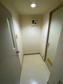 藤和サンコープ大名 406号室の洗面所