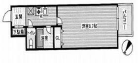 エンクレスト博多駅南 1202号室の間取り