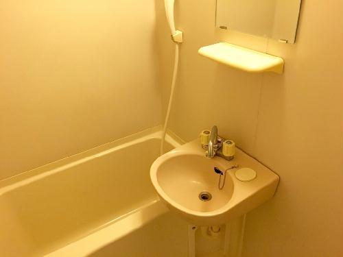 レオパレスプレシオD 204号室の風呂