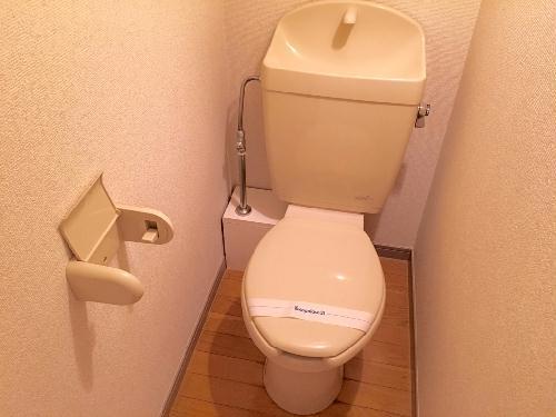 レオパレスプレシオD 204号室のトイレ