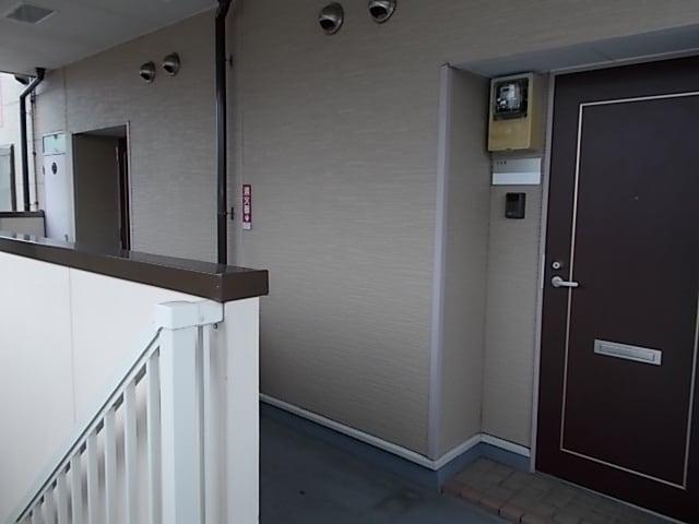 サンリット 02010号室の玄関