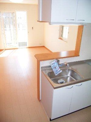 プランドールA 01030号室の風呂