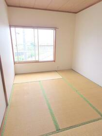 シルクコート 203号室のキッチン