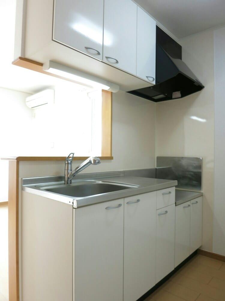 プランドールA 02030号室のキッチン