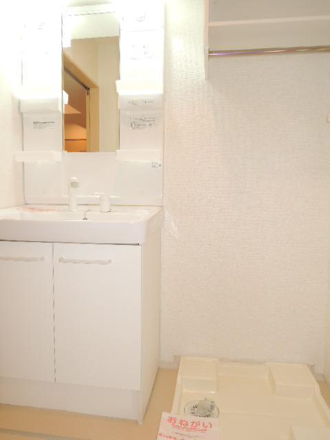 ミドルA 02020号室の洗面所