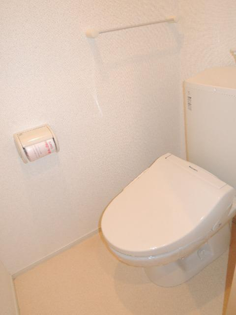 ミドルA 02020号室のトイレ