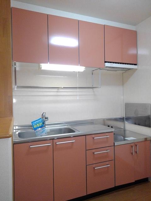 ソレアードナカノⅡ 02020号室のキッチン