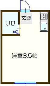 サン・ビレッヂ・303号室の間取り