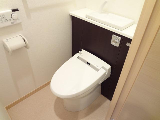 パレスSK 02030号室のトイレ