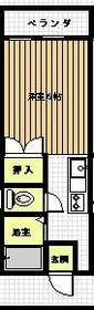 パークハイツKANEKO B棟・203号室の間取り