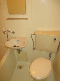 タッシ国立 0408号室のトイレ