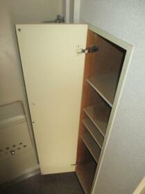 タッシ国立 0408号室の収納