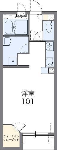 レオネクストぱいん2・103号室の間取り